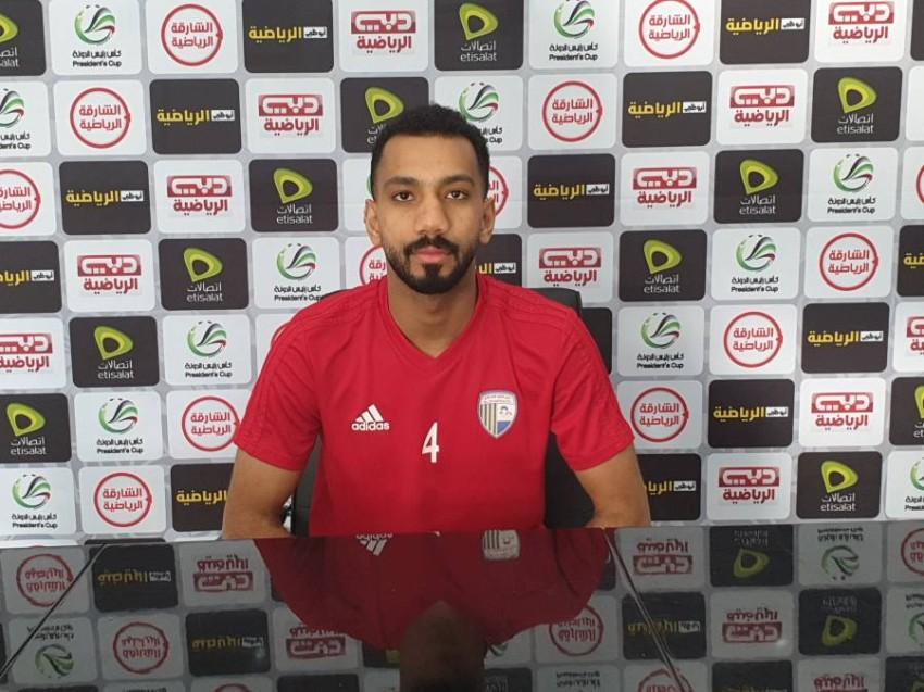 لاعب الظفرة عبدالرحمن يوسف