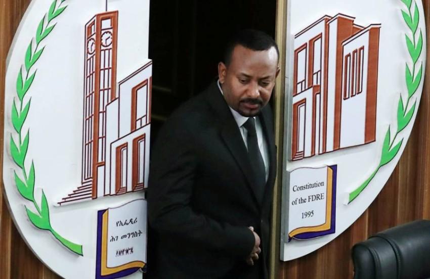 رئيس الوزراء الإثيوبي أبي أحمد في أديس أبابا. (رويترز)
