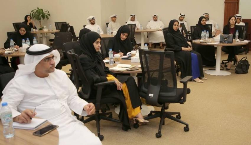 جانب من المشاركين في برنامج المسؤولية القانونية لأخطاء مزاولي المهن الطبية. (من المصدر)