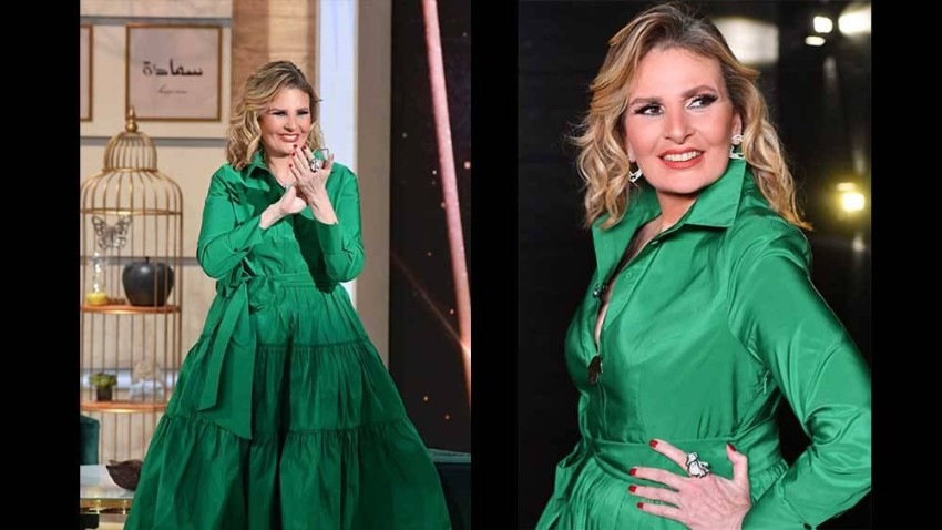 يسرا في غداً أجمل بفستان من كارولينا هيريرا