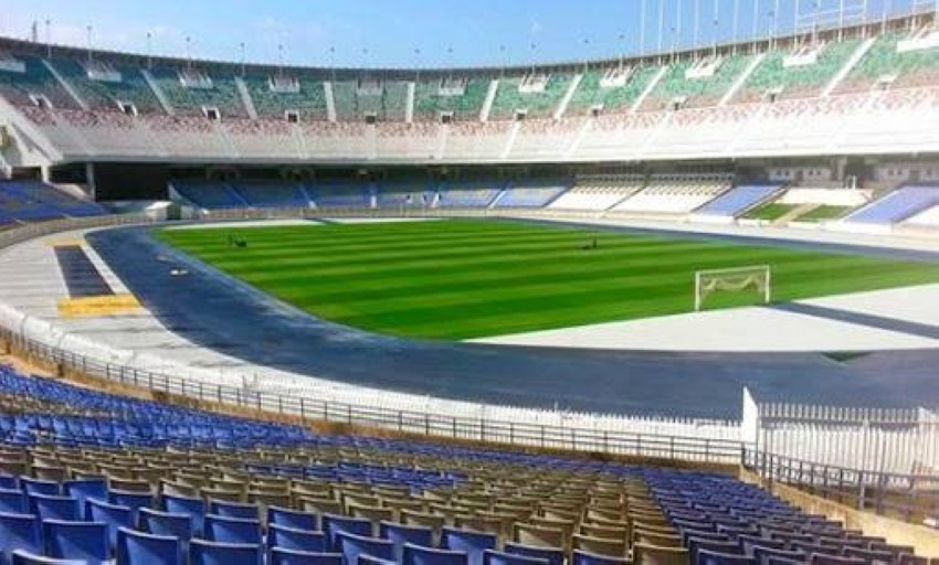 ملعب 5 يوليو 1962 الأولمبي بالعاصمة الجزائرية.