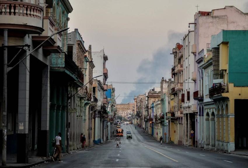 شوارع العاصمة الكوبية هافانا خالية تماماً - أ ف ب