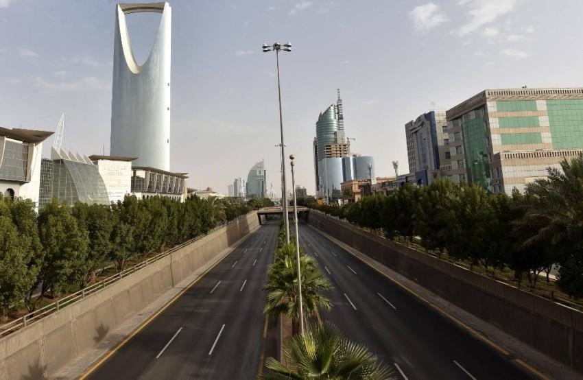 شوارع العاصمة السعودية الرياض خالية تماماً - أ ف ب