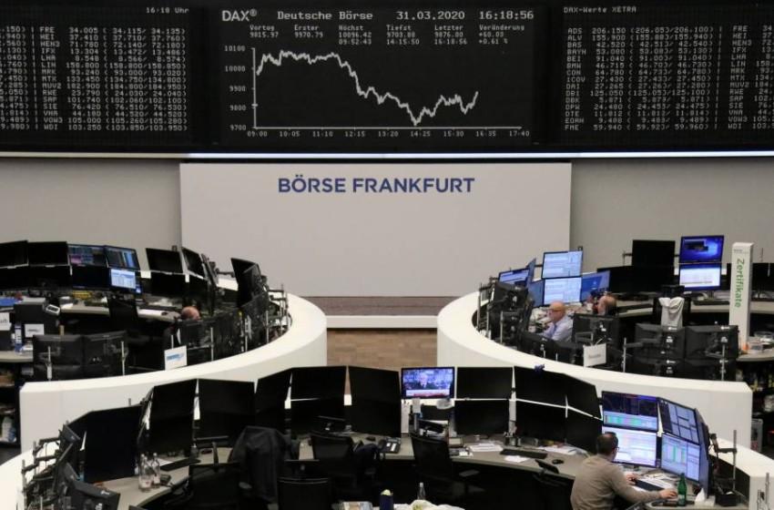 بورصة فرانكفورت. (رويترز)
