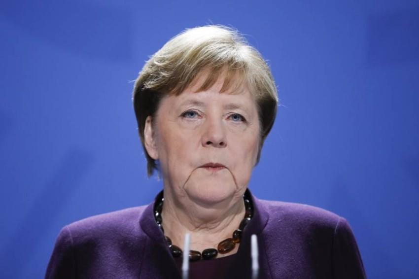المستشارة الألمانية أنجيلا ميركل. (أ ف ب)