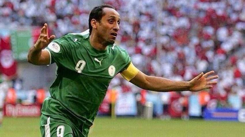 نجم المنتخب السعودي السابق وأسطورة نادي الهلال، سامي الجابر. (أرشيفية)