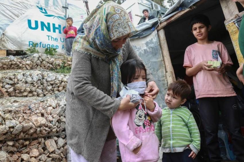 اللاجئون.. أزمة إنسانية وملف شائك. (أ ف ب)