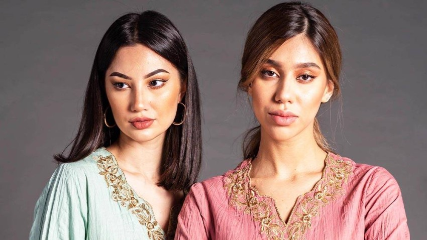 التطريزات الذهبية استوحيت من الثقافة السعودية