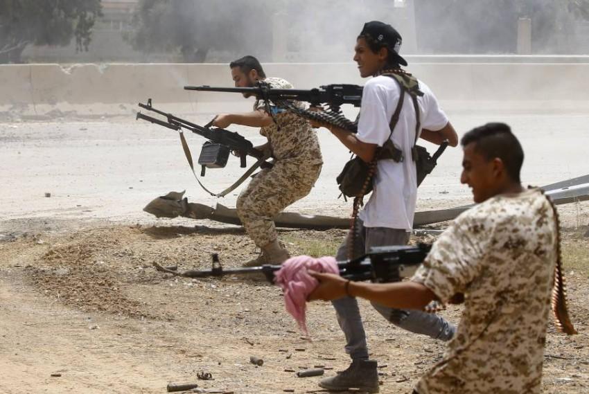 الأمم المتحدة تناشد الأطراف المتحاربة على وقف القتال. (أ ف ب)
