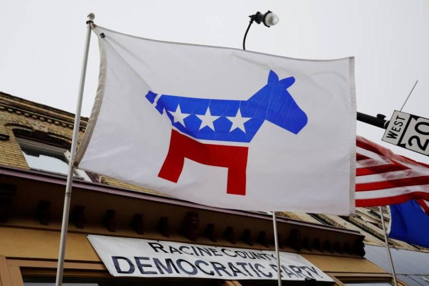 شعار الحزب الديمقراطي. (رويترز)