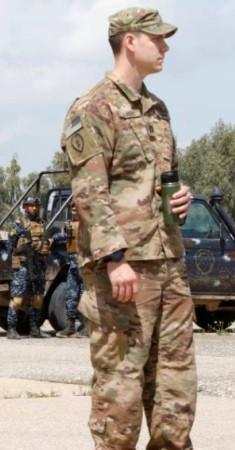 عناصر من القوات الأمريكية في العراق. (رويترز)