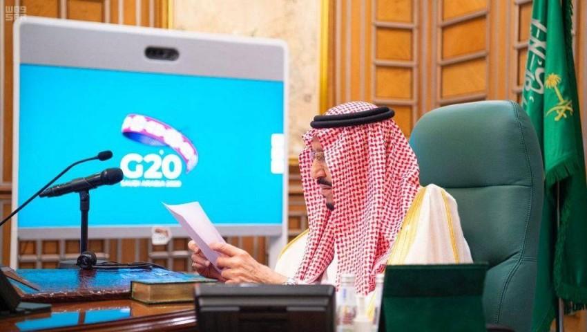 خادم الحرمين الشريفين الملك سلمان بن عبدالعزيز آل سعود. واس