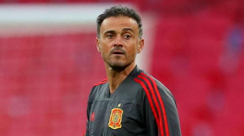 لويس إنريكي - مدرب المنتخب الإسباني.