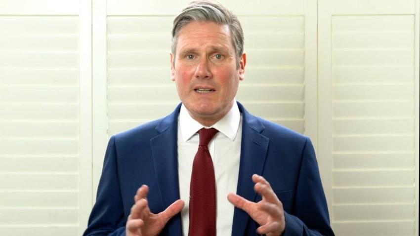 الزعيم الجديد لحزب العمال البريطاني، كير ستارمر(أ ف ب)