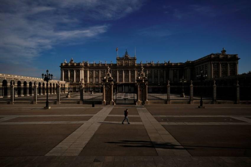 شوارع مدريد خالية تماماً بعد أزمة الفيروس التاجي - رويترز