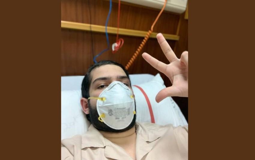 سيف الشرهان النعيمي - المصاب بفيروس كورونا