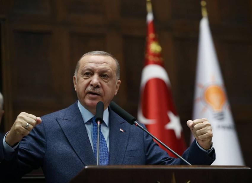 الرئيس التركي رجب طيب أردوغان في أنقرة. (رويترز)