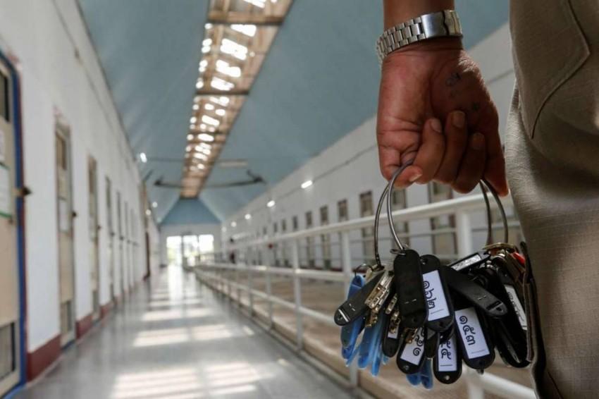 صورة من داخل سجن بانكوك. رويترز