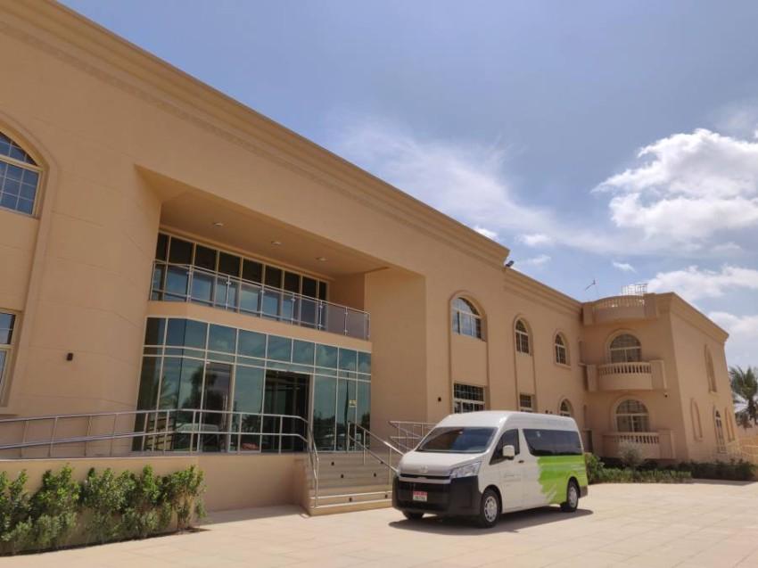 المستشفى الجديد في مدينة العين. (من المصدر)
