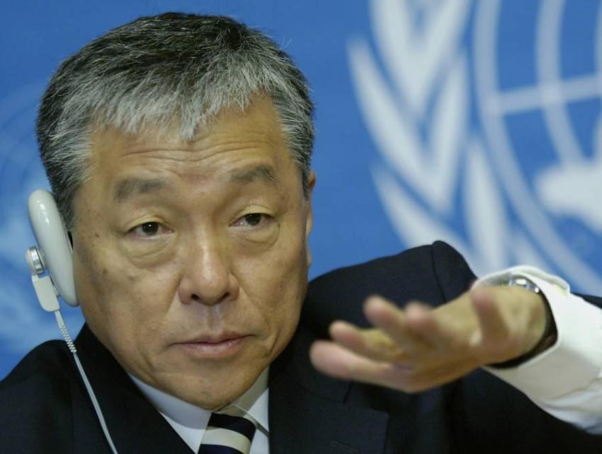 مدير منظمة الصحة العالمية خالا أزمة السارس لي جونغ-ووك - رويترز