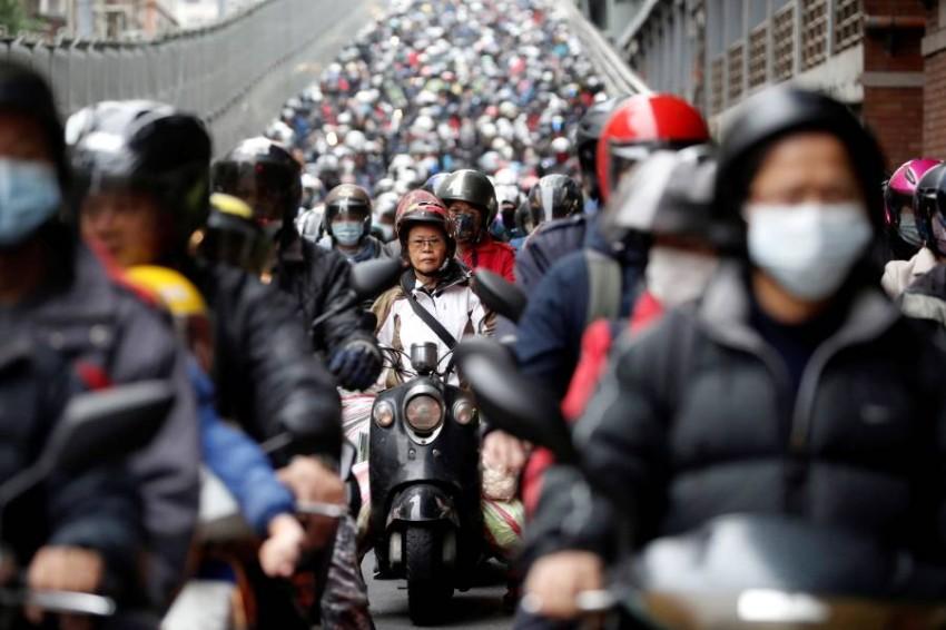تايوان.. مثال نموذجي في الاستعداد المبكر للأزمة. (رويترز)