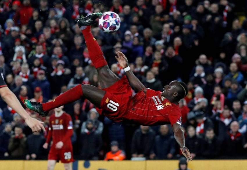 السنغالي ساديو ماني مهاجم فريق ليفربول الإنجليزي. (رويترز)
