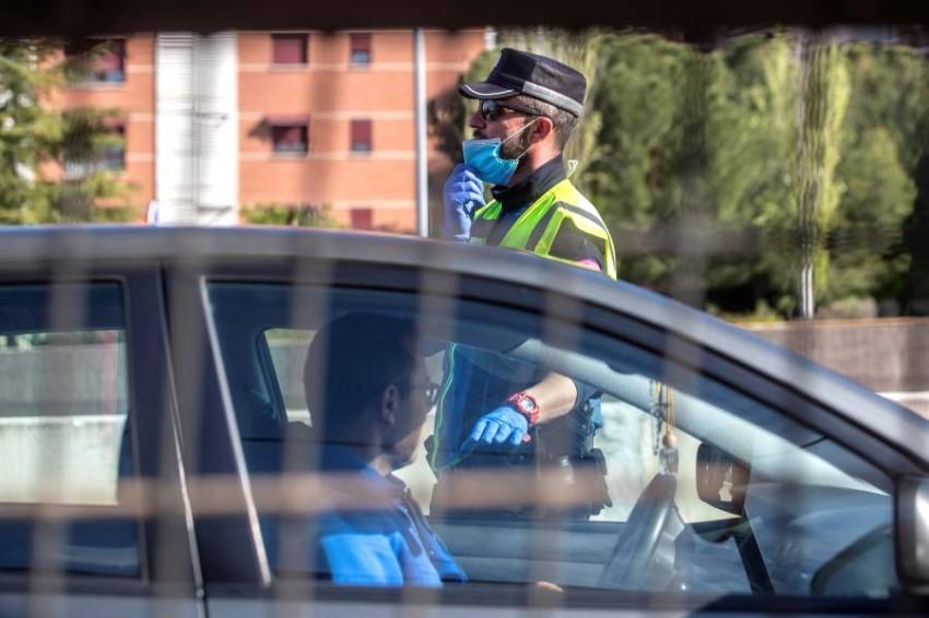 فرد بالشرطة الإسبانية. (إي بي أيه)