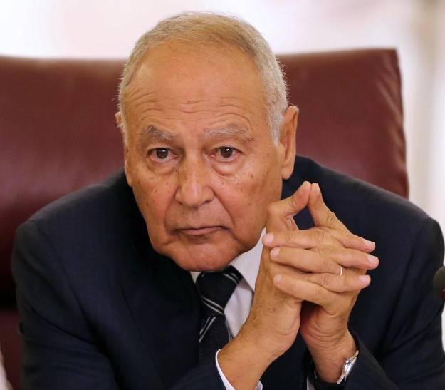الأمين العام للجامعة العربية يشيد بمبادرة وقف إطلاق النار. (رويترز)