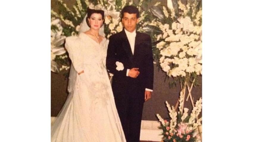 غادة عبد الرازق في زواجها الأول