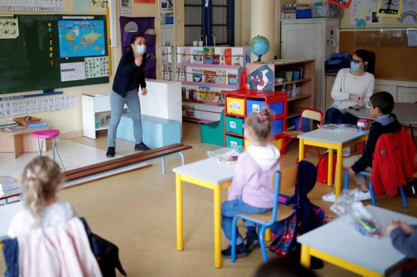 آلاف المدارس أعادت فتح أبوابها في فرنسا - أخبار صحيفة الرؤية