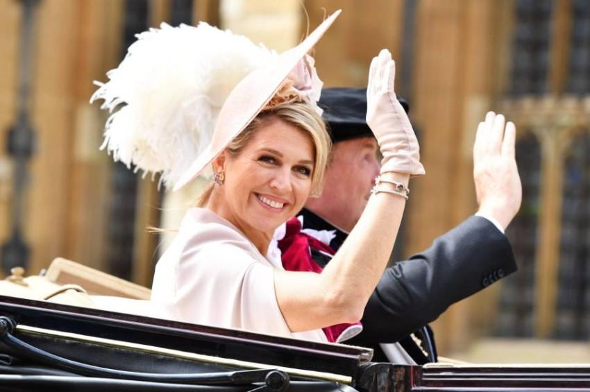 تزوجت من الملك عام 2000