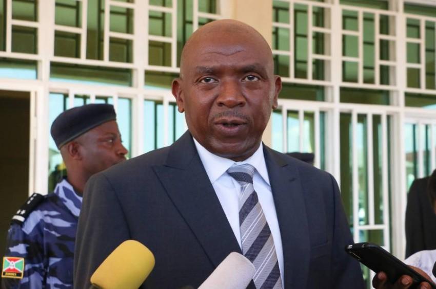 أغاثون رواسا كبير زعماء المعارضة البورونديين. (أ ف ب)