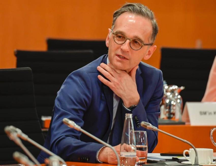 وزير الخارجية الألماني هايكو ماس. (أ ب)