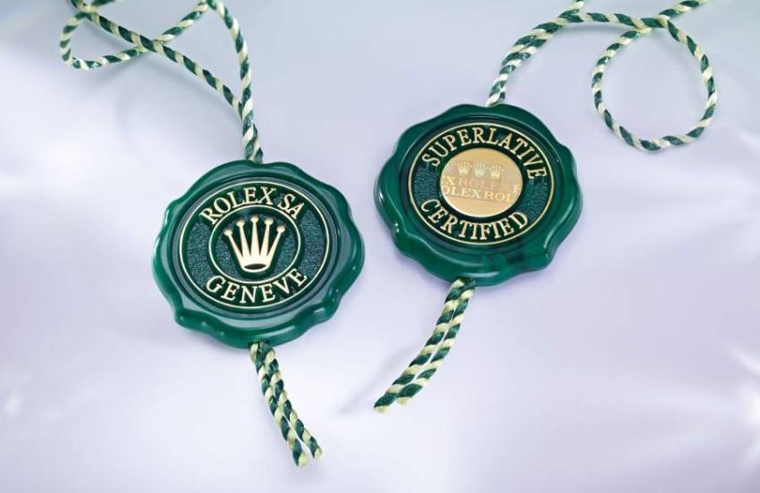 Rolex Green Seal