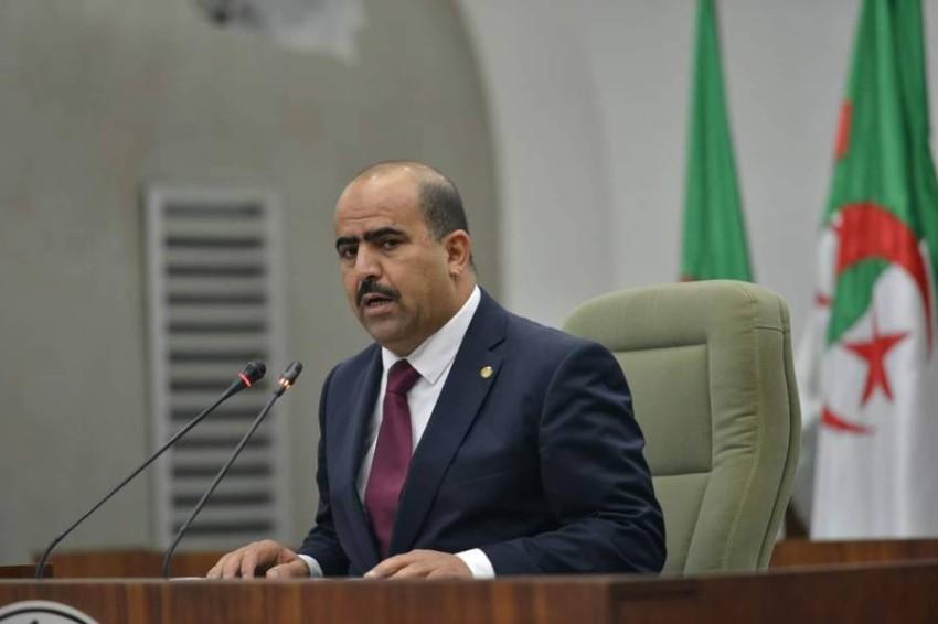 سليمان شنين رئيس المجلس الشعبي الوطني الجزائري.(أرشيفية)