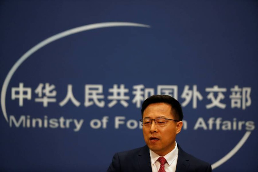 الصين تدعو لندن إلى «التوقف فوراً عن أي تدخل» في شؤون هونغ كونغ. (رويترز)