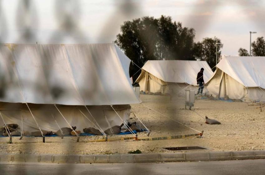 الأمم المتحدة تدعو لحماية اللاجئين خلال تفشي كورونا. (أ ف ب)