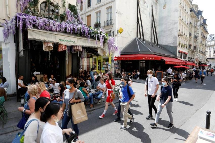 فرنسا تسجل 81 وفاة جديدة بكورونا. (رويترز)
