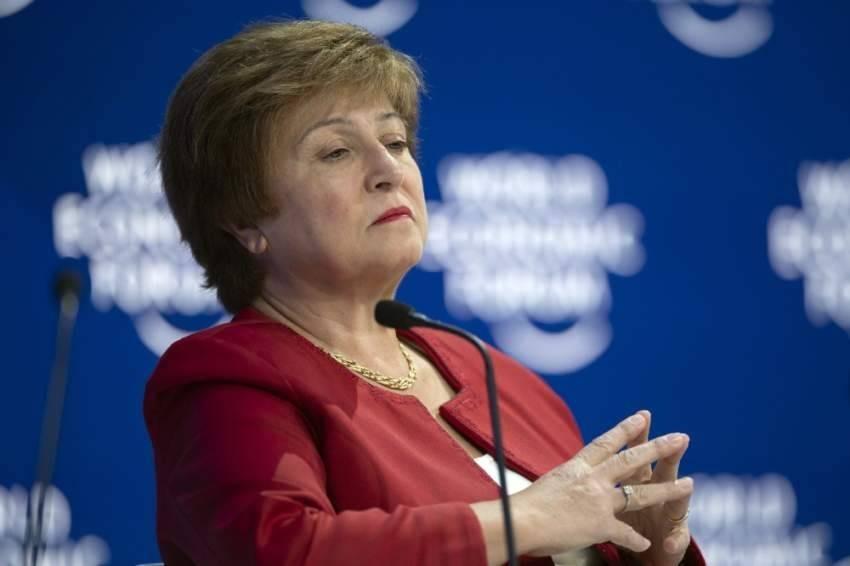 المديرة الإدارية لصندوق النقد الدولي كريستالينا جورجيفا
