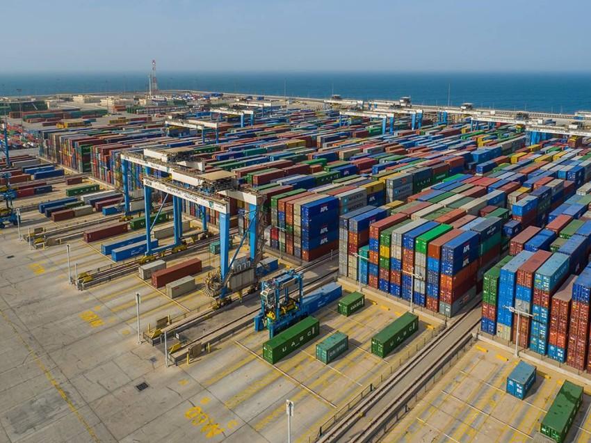 ميناء خليفة. (أرشيفية)