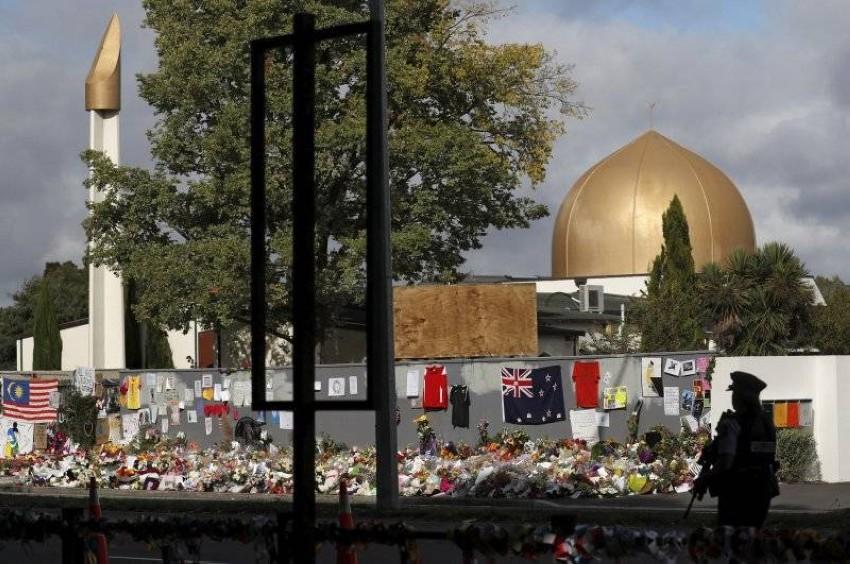 تضامن واسع مع ضحايا مجرزة مسجد النور. (رويترز - أرشيفي)