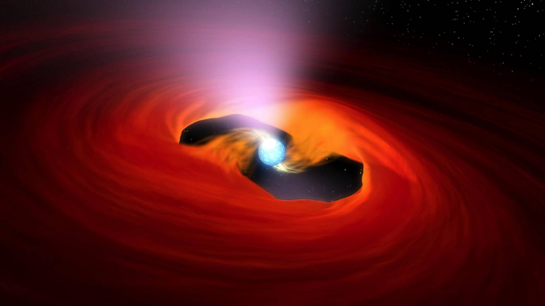 الانفجار الإشعاعي للنجم النيوتروني