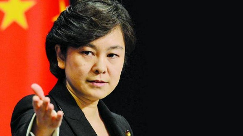 الصين: لن نشارك في محادثات ثلاثية. (أ ف ب)