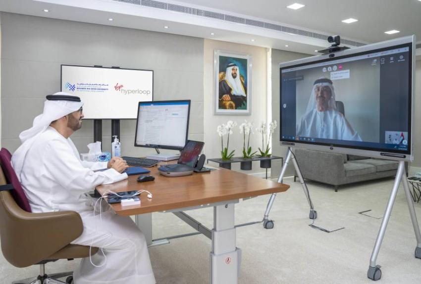 """جامعة محمد بن زايد للذكاء الاصطناعي و""""فيرجن هايبرلوب"""" تتعاونان لتطوير قطاع النقل في الشرق الأوسط."""