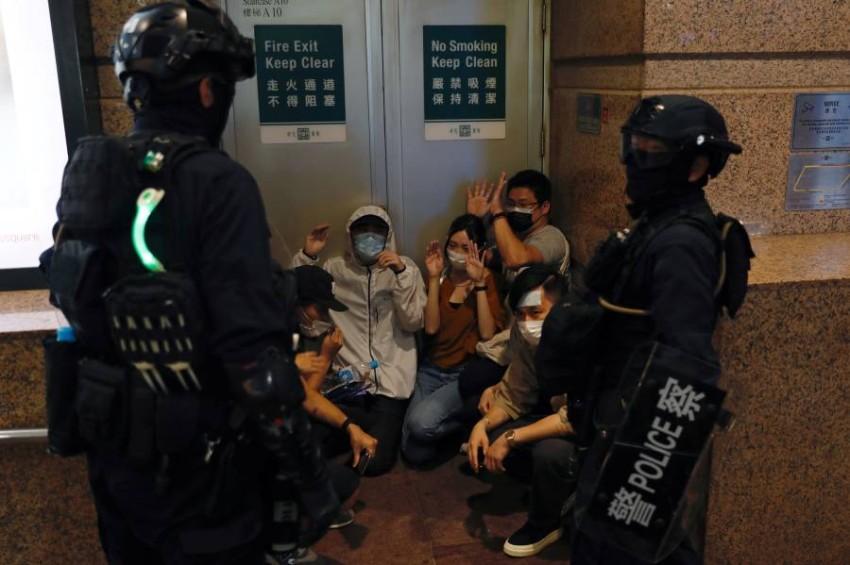 قانون الأمن القومي الجديد في هونغ كونغ يمنح الصين سلطات قضائية واسعة. (رويترز)