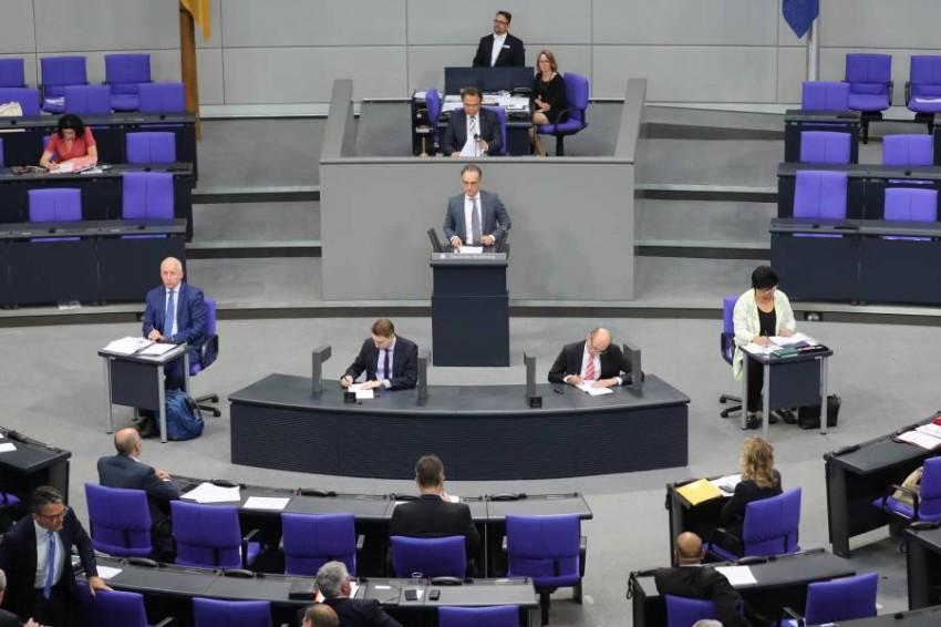 البرلمان الألماني يدعو إسرائيل إلى التخلي عن خطط ضم أراضٍ بالضفة. (إي بي أيه)