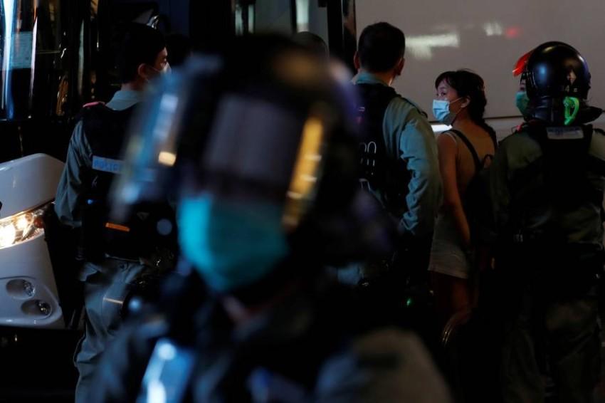 بومبيو: قانون هونغ كونغ الجديد إهانة لجميع الدول. (رويترز)