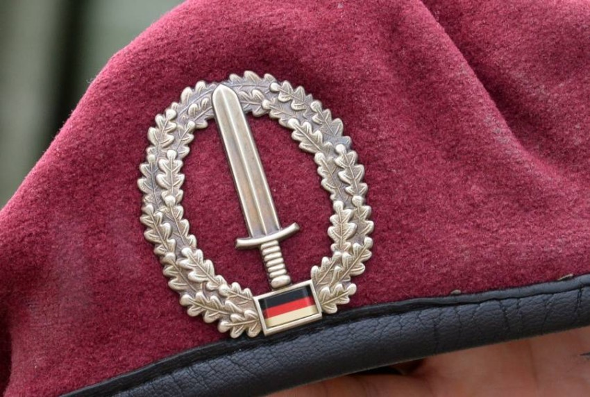 وحدة القوات الخاصة بالجيش الألماني. (أ ف ب)