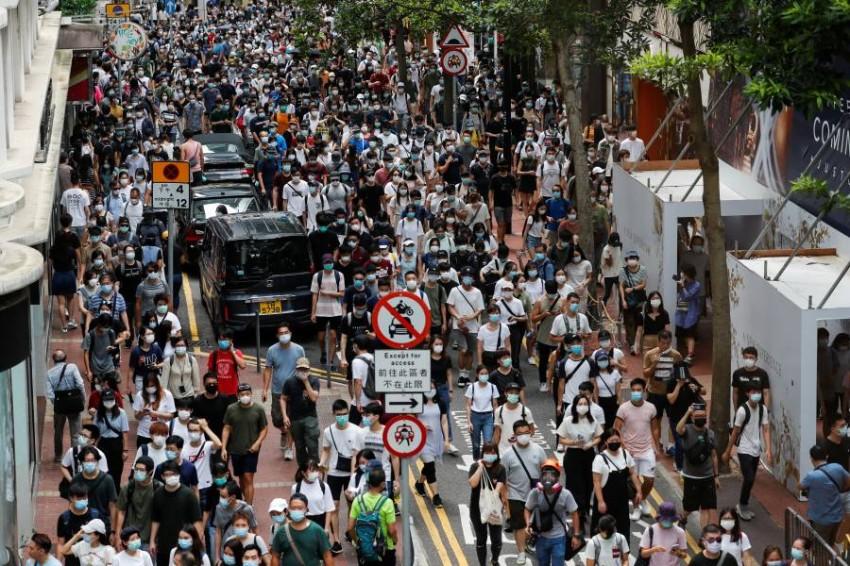 أستراليا تقدم «ملاذاً آمناً» لسكان هونغ كونغ. (رويترز)