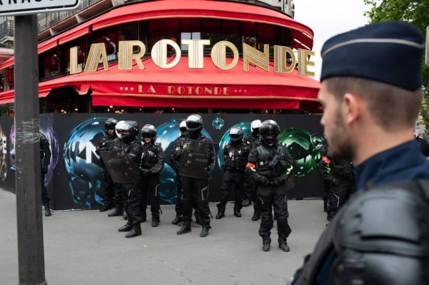 حل وحدة شرطية فرنسية وسط تحقيقات بشأن مخالفات. (رويترز)